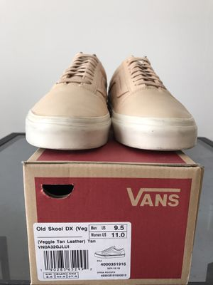 Vans Old Skool DX Vachetta Tan mens size 9.5 for Sale in San Francisco, CA