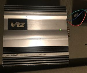 Alpine V12 MVR-F303 Amp for Sale in Tolleson, AZ