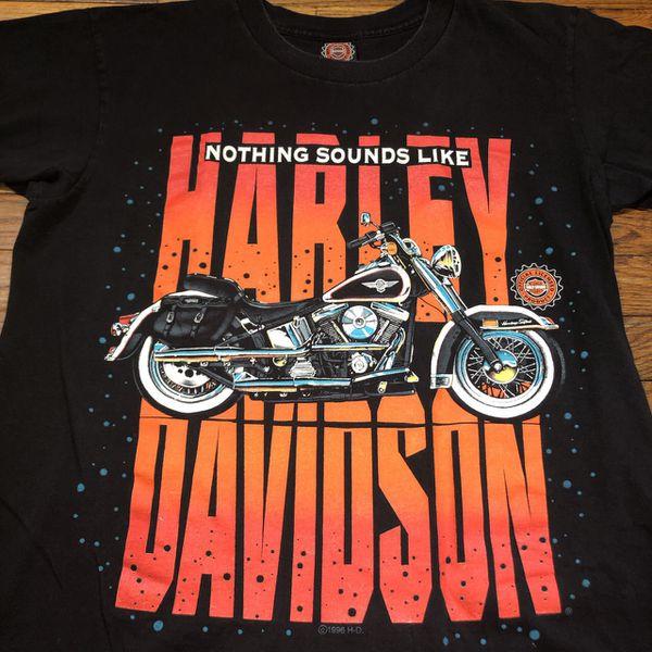 1996 Vintage Harley Davidson T-shirt Mens Medium