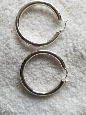 Large Sterling Silver Earrings ($20ea) for Sale in Woodbridge, VA