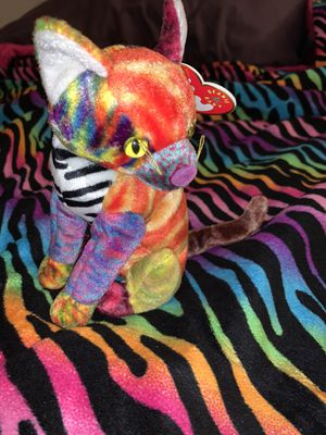 TY Beanie Baby - KALEIDOSCOPE the Cat for Sale in Canton, OH