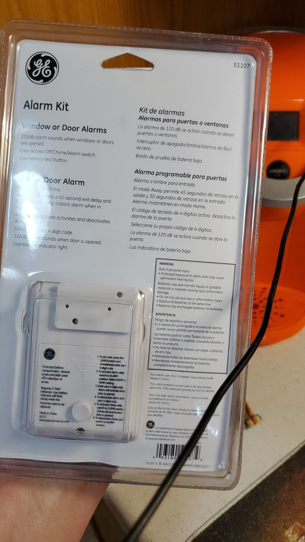Brand new alarm kit for doors and windows