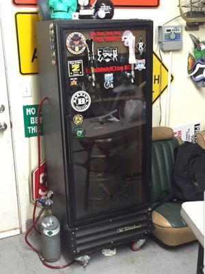 2 Tap Stand Up Kegerator Fridge. Make me an offer. Would do partial trade for a small pop up camper for Sale in Concord, CA