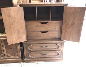 Art Deco mid midcentury highboy dresser armoire for Sale in Derwood, MD