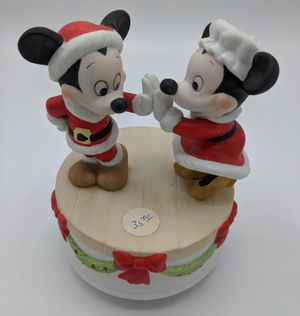 Disney Mickey and Minnie Christmas music box for Sale in Seattle, WA