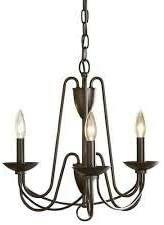 Allen + Roth Wintonburg 3 light Chandelier for Sale in Renton, WA