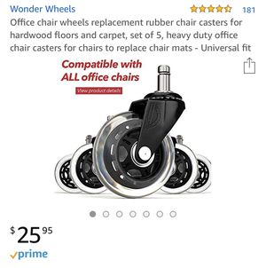 Office Chair Wheels for Sale in Austin, TX
