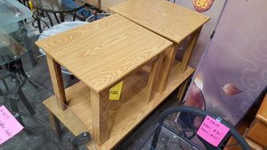 Brand New 3 Piece Oak Coffee Table Set for Sale in Silver Spring, MD