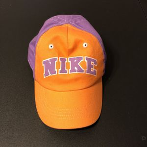 Nike Toddler Baseball Hat With Velcro Strap Orange & Purple Colorway for Sale in Phoenix, AZ