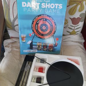 Magnetic Dart Game With Shots for Sale in Largo, FL