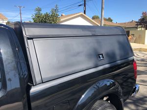 Camper shell (aluminum) frontier king cap 75 1/2 long by 65 inches wide for Sale in Los Angeles, CA