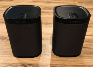Sonos PLAY:1 Wireless Speakers (Black) for Sale in Livermore, CA