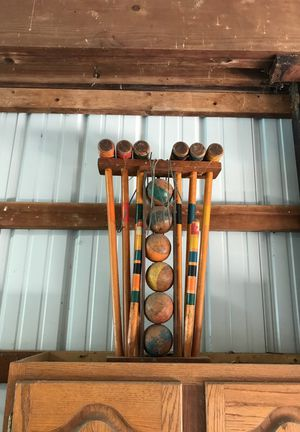 Antique croquet set for Sale in Delaware, OH