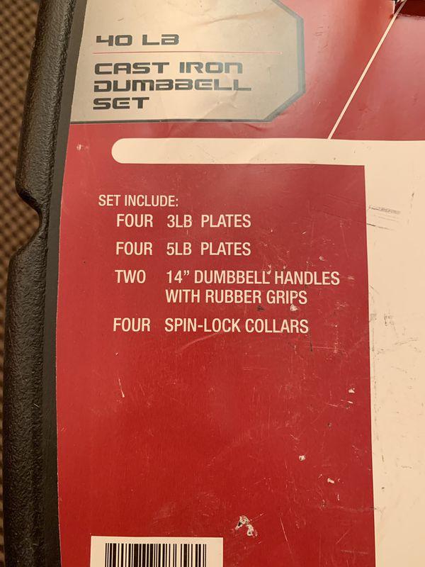 Dumbbells set