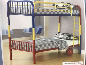 Convertible to 2 Beds Bunk Bed for Sale in Jersey City, NJ