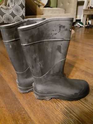 Rain work boots for Sale in Austin, TX