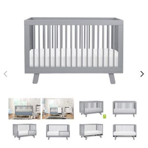 Babyletto Hudson crib and changing table for Sale in Miami, FL
