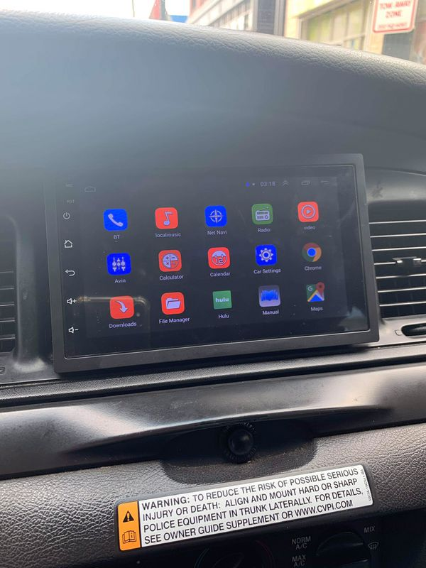Android double din (Car stereo) Navigation (New)