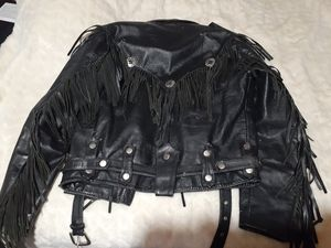 Leather riding jacket for Sale in Youngtown, AZ