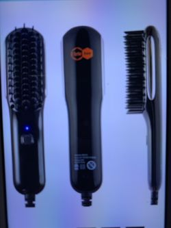 Hair Straightener Brush, Fast Heating Beard Hair Straightening Comb with High-Density Anti Scalding Comb Teeth, Portable Mini Hair Straightening Brush for Sale in Severna Park,  MD