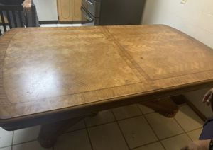 Kitchen table (all wood) for Sale in Pharr, TX