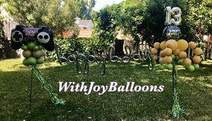 Birthday Yard Balloon Decor for Sale in Whittier, CA
