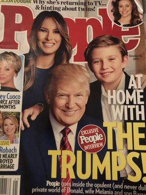 Donald Trump First Election People Magazine for Sale in The Bronx, NY