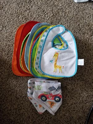 BABY BIBS (13) for Sale in Canby, OR