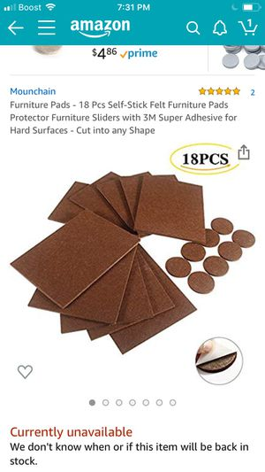 Furniture pads for Sale in Stickney, IL