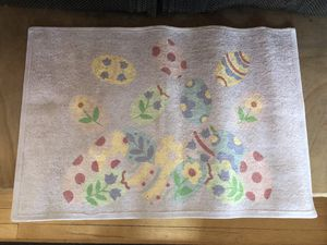Easter throw rug for Sale in Greenwood Village, CO