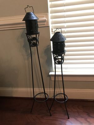 Tall candle holders for Sale in Brambleton, VA