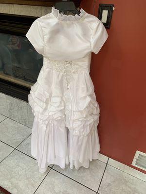 Girls wedding dress size 8 for Sale in Dearborn, MI
