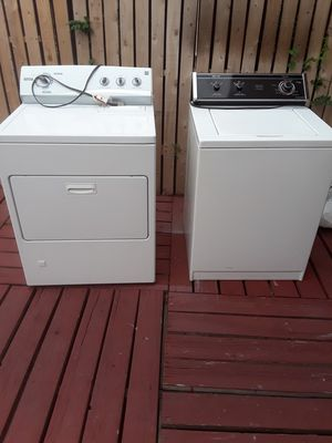Free washer and dryer must pick up and load for Sale in Albuquerque, NM