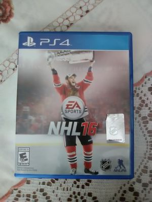 PS4 NHL 16. Hockey video game. EA SPORTS. PlayStation for Sale in NEW PRT RCHY, FL
