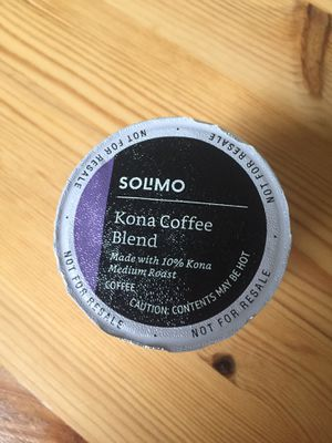 Solimo Medium Roast Coffee Pods, Kona Blend, Compatible with Keurig 2.0 K-Cup Brewers for Sale in Boston, MA