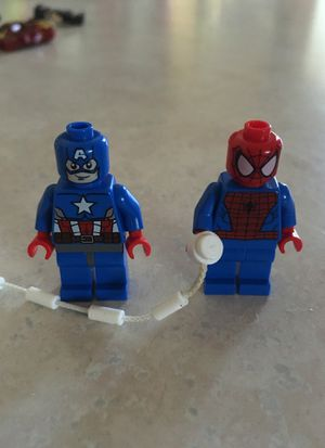Lego Marvel old Captain America and Spider-Man for Sale in Avon Park, FL