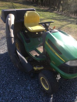 John Deere 155C Riding Mower with Bagger for Sale in Manassas, VA