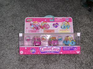 Shopkins Cutie Cars Set QT2-32/33/34 for Sale in St. Louis, MO