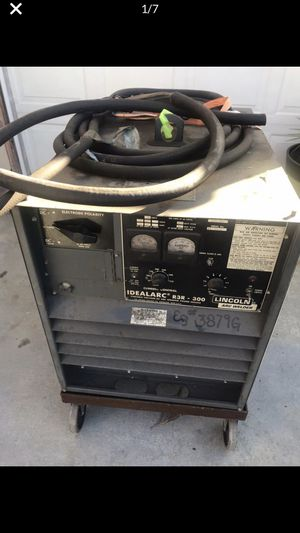 Welder Lincoln professional powerful $100 -3 ph for Sale in Baldwin Park, CA