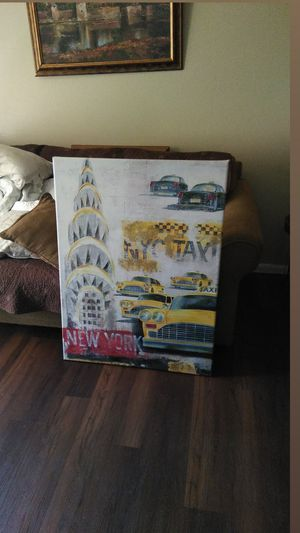 Large painting New York City for Sale in El Paso, TX
