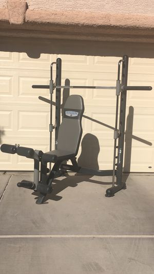 Smith Weight Bench Press for Sale in Las Vegas, NV