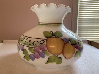 Vintage Milk Glass Hurricane Lamp Shade for Sale in Mount Pleasant,  PA