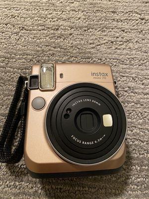Fujifilm Instax Mini 70 Film Camera Gold for Sale in San Francisco, CA