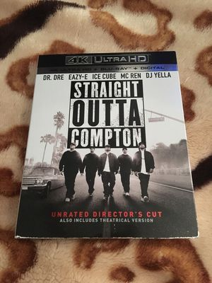 Straight Outta Compton 4K UHD for Sale in New York, NY