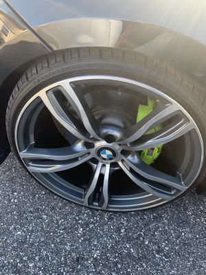 """4 Bmw 20"""" with tires for Sale in Oviedo, FL"""