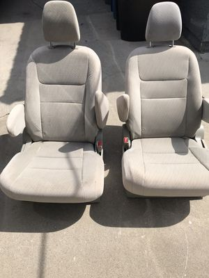 Tan color captain seats for van conversion RV motorhome sprinter etc for Sale in Los Angeles, CA
