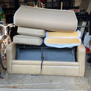 Free RV Couch. About 60 X 74. Pulls Out Into Bed. for Sale in Whittier, CA