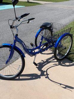 Bike For Sale, , Blue, 26 Inch Meridion, Schwin 3 Wheeler for Sale in Punta Gorda,  FL