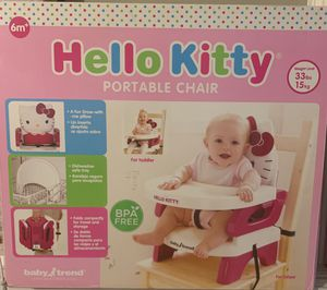 Hello Kitty Portable Chair by Baby Trend for Sale in Houston, TX