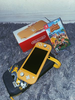 Nintendo Switch Lite (ACNH, Case, and Charger Included) for Sale in Kissimmee, FL